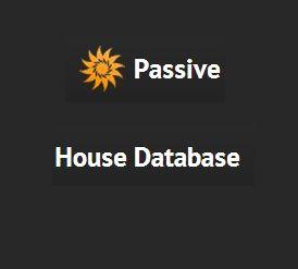 passive house database logo
