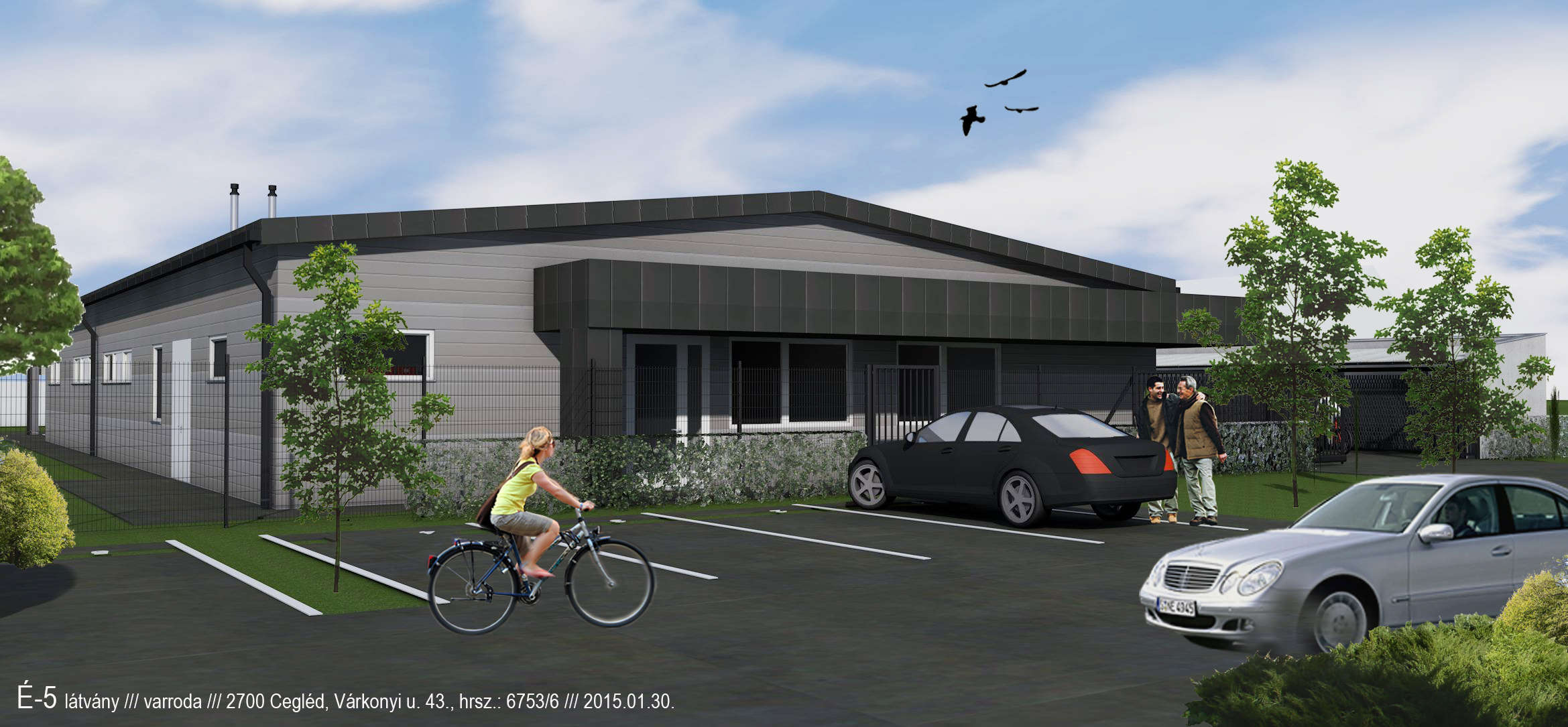 sewing factory építészeti tervezés