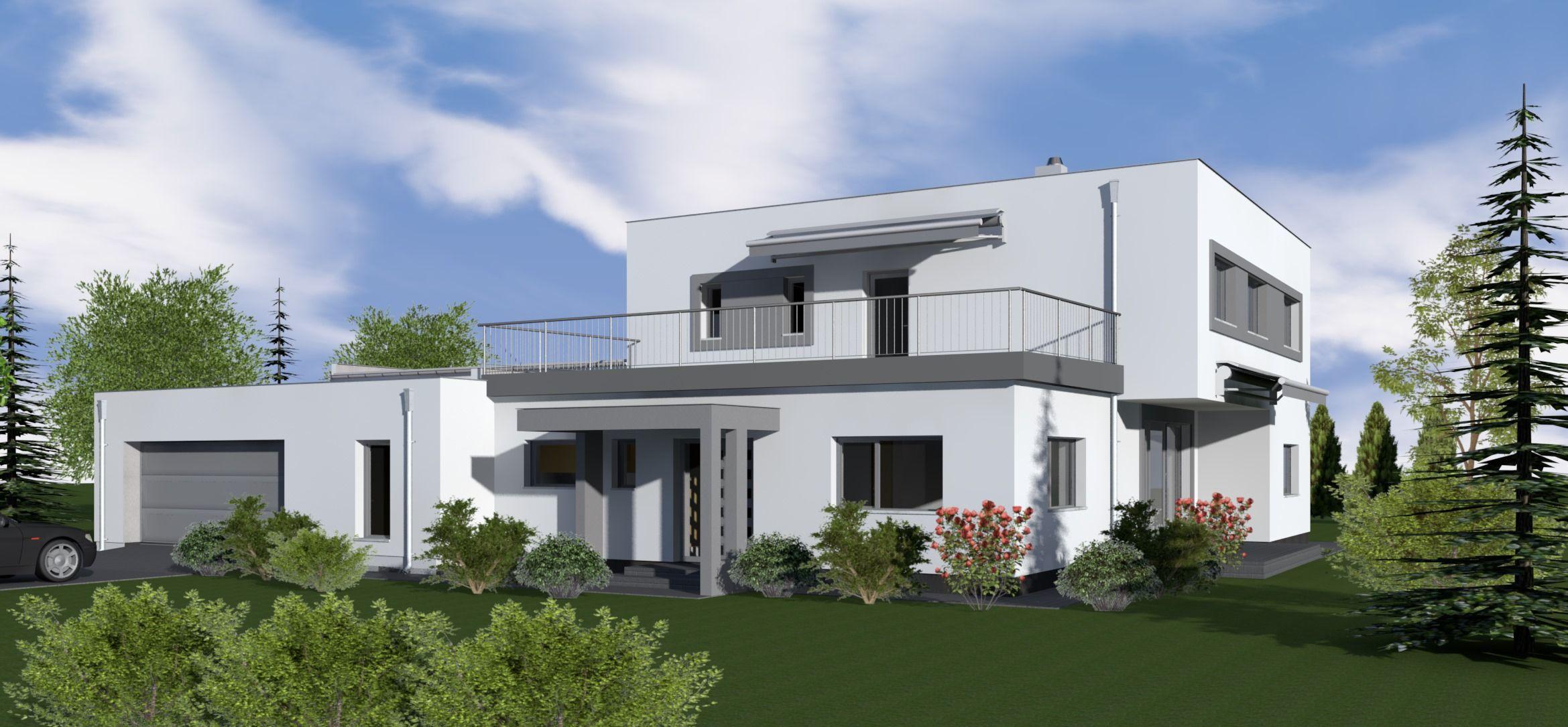 Cegléd lapostetős családi ház 3d digitális modellezése